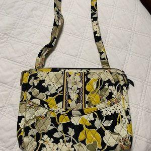 Vera Bradley purse; retired magnolia print